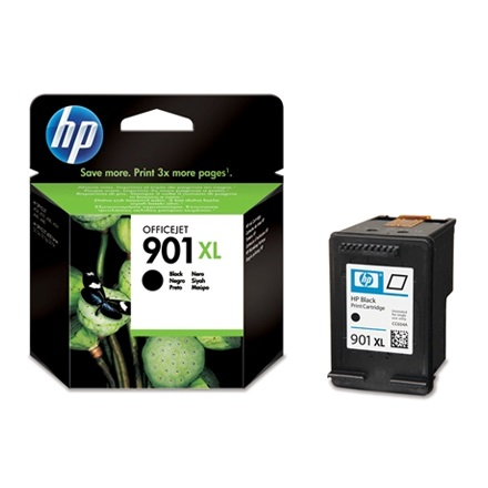 HP Patron - CC654AE No.901XL (Fekete, 14ml)