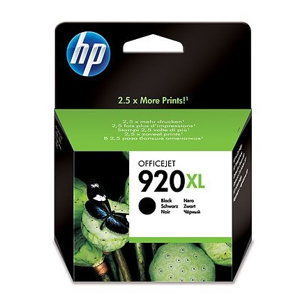 Patron HP CD975AE No.920XL fekete 1200old.