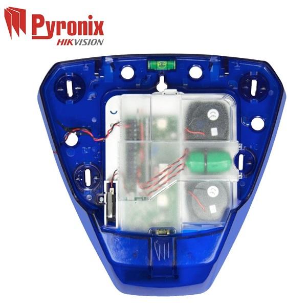 Pyronix DELTA-X kültéri sziréna, szabotázs védelem, hangjelzés, kék, burkolat nélkül