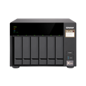 QNAP NAS - TS-673-8G (6HDD hely, AMD QC RX-421ND 2.1GHz, 8GB RAM, SATA, 4x RJ-45, 4x USB3.0)