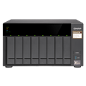 QNAP NAS - TS-873-8G (8HDD hely, AMD QC RX-421ND 2.1GHz, 8GB RAM, SATA, 4x RJ-45, 4x USB3.0)