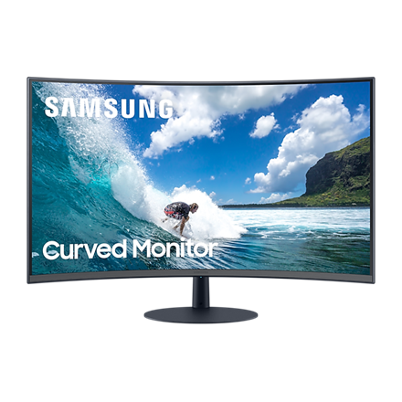 "Samsung Monitor 32"" - C32T550FDR (VA, 1920x1080, 16:9, FHD, 75HZ, 250cd/m2, 4ms, Curved)"
