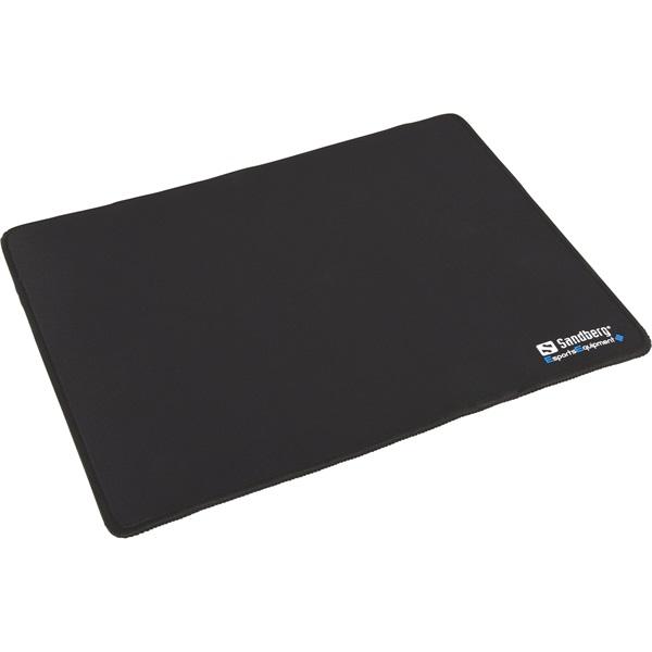 Sandberg Egérpad - Gamer Mousepad (32x24x0.3cm; csúszásgátló alsó rész; fekete)
