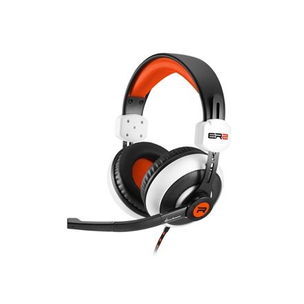 Sharkoon Fejhallgató - Rush ER2 (fekete-fehér  mikrofon  TRRS 3.5mm jack 92f40eab60