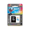 Silicon Power MicroSD kártya -  64GB microSDXC Elite UHS-1 + adapter