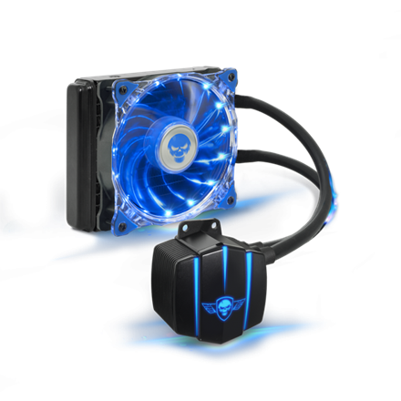 Spirit of Gamer CPU Water Cooler - Liquid Force 120 (25dB; 2800 RPM; 1x12cm)