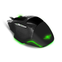 Spirit of Gamer Egér - PRO-M8 Light Edition (Avago 5050, 3500DPI, 1000Hz, 7 gomb, LED, fekete)