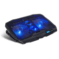 "Spirit of Gamer Notebook Hűtőpad 17""-ig - AIRBLADE 600 Blue (15dB; max. 95,14 m3/h; 2x12cm, LED, 2xUSB2.0)"