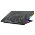 "Spirit of Gamer Notebook Hűtőpad 17""-ig - AIRBLADE 800 RGB (26dB; max. 79 m3/h; 2x17cm, RGB LED, 2xUSB2.0)"