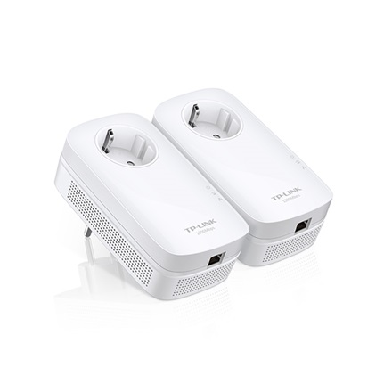 TP-Link TL-PA8010P Powerline adapter Kit (1200Mbps, 230V aljzat, 2x2 MIMO; 128-bit AES, OFDM, Max 300m)