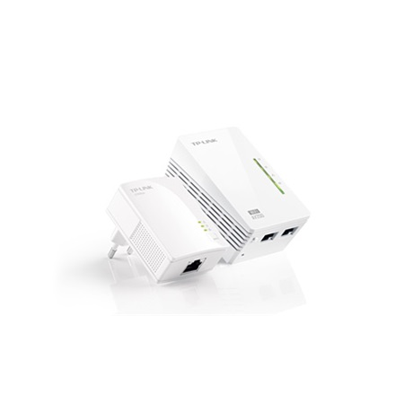 TP-Link TL-WPA2220 Powerline WiFi Extender Kit (200Mbps, 300Mbps 2,4GHz; 128-bit AES, QoS, Max 300m)