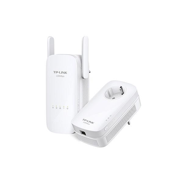 TP-Link TL-WPA8630 Powerline WiFi Extender Kit (1200Mbps, 300Mbps 2,4GHz + 867Mbps 5GHz; 128-bit AES
