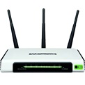 TP-Link Router WiFi N - TL-WR940N (450Mbps, 2,4GHz; 4port 100Mbps; 3x3MIMO; fix 5dBi antenna)