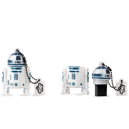 Tribe Pendrive 16GB - STAR WARS - R2-D2 (USB 2.0)