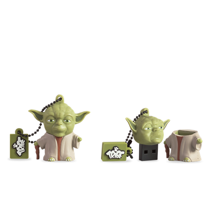 Tribe Pendrive 16GB - STAR WARS - Yoda the Wise (USB 2.0)