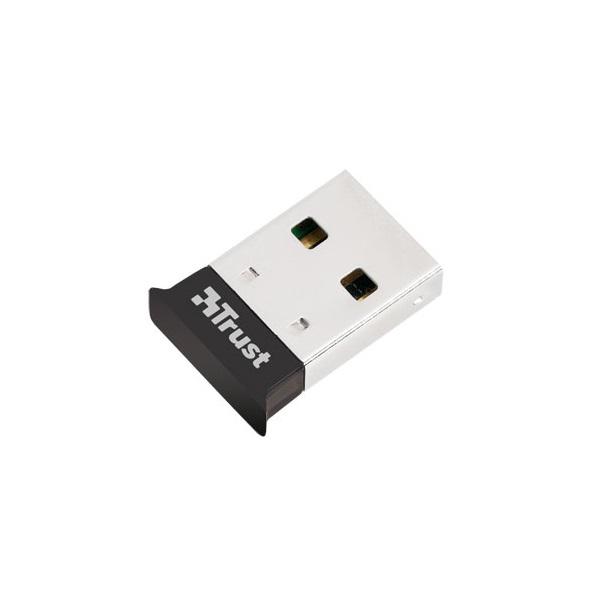 Trust Bluetooth Adapter - Ultra Small (c.sz:18187; Bluetooth® 4.0; micro méret; USB; fekete)