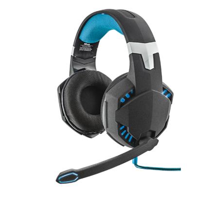 Trust Fejhallgató 7.1 - GXT 363 Hawk Bass Vibration (világítás  mikrofon   hangerőszabályzó  705a8c88f4