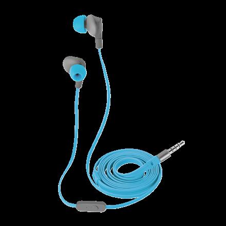 Trust Fülhallgató - Aurus (kék  Vízálló  Csavarodás mentes 120cm kábel   Telefon  383b2f5bbc