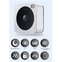 VUEBELL IP cloud video kaputelefon, wifi, 1MP, 1,3mm, IR8m, IP53
