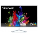 "ViewSonic Monitor 32"" - VX3276-MHD-3 (IPS, 16:9, 1920x1080, 4ms, 250cd/m2, HDMI, DP, VESA, SPK, ezüst, káva nélk.)"