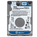 "Western Digital WD5000LPCX 500GB 2,5"" Notebook 5400rpm, 8 MB puffer, SATA3, 7mm - Blue"