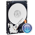 "Western Digital WD5000LPVX 500GB 2,5"" Notebook 5400rpm, 8 MB puffer, SATA-600, 7mm - Blue"